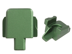Aftermarket Green Sig P320 Slide Cover Plate - 9MM 357 40 | NDZ Performance