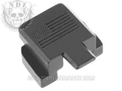NDZ Sig P320 rear plate US Flag Black