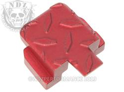 Black Sig P320 Rear Slide Plate Dia Cut