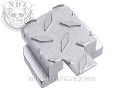 Red Sig P320 Rear Slide Plate Dia Cut