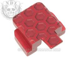 Red Sig P320 Rear Slide Plate HC Inv