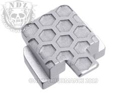 Silver Sig P320 Rear Slide Plate HC Inv
