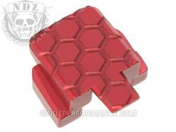 Red Sig P320 Rear Slide Plate HC