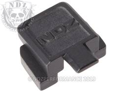 Black Sig P320 Rear Slide Plate NDZ