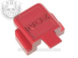 Red Sig P320 Rear Slide Plate NDZ
