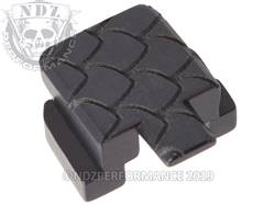 Black Sig P320 Rear Slide Plate SC
