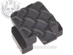 Black Sig P320 Rear Slide Plate SC Inv