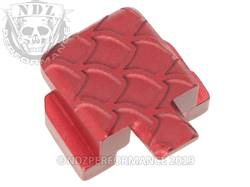 Red Sig P320 Rear Slide Plate SC Inv