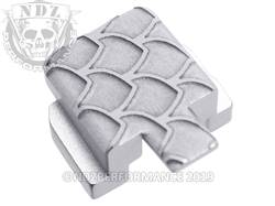Silver Sig P320 Rear Slide Plate SC Inv