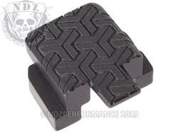 Black Sig P320 Rear Slide Plate TW