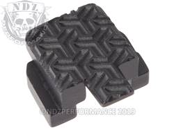 Black Sig P320 Rear Slide Plate TW Inv