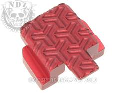 Red Sig P320 Rear Slide Plate TW Inv