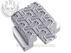 Silver Sig P320 Rear Slide Plate TW Inv