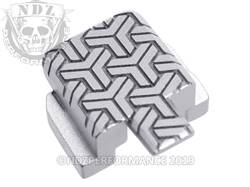 Silver Sig P320 Rear Slide Plate TW