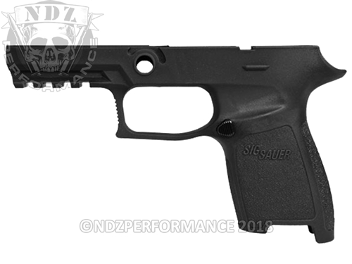 Custom Sig Sauer P320 P250 Grip Module - Black - Compact Small 45
