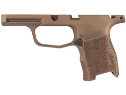 Sig Sauer P365 Grip Module Compact 9mm with Manual Safety Compatibility Cerakote Burnt Bronze