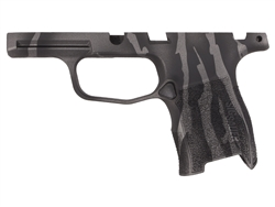 Sig Sauer P365 Grip Module Compact 9mm with Manual Safety in Cerakote Tungsten Tiger Stripe