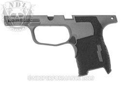 Custom Sig Sauer P365 Stippled Grip Module - Cerakote TUN - Compact 9mm