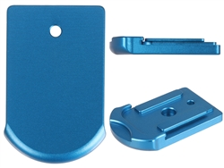 Sig Sauer P365 Slim Carry Magazine Plate in Blue for P365 Models By NDZ Performance