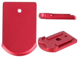 Sig Sauer P365 Slim Carry Magazine Plate in Red for P365 Models By NDZ Performance