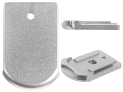 Sig Sauer P365 Slim Carry Magazine Plate in Silver for P365 Models By NDZ Performance