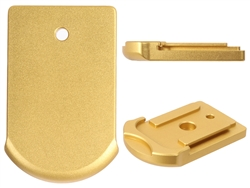 Sig Sauer P365 Slim Carry Magazine Plate in Gold for P365 Models By NDZ Performance