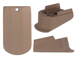 Sig P365 Mag Finger Extension in Flat Dark Earth