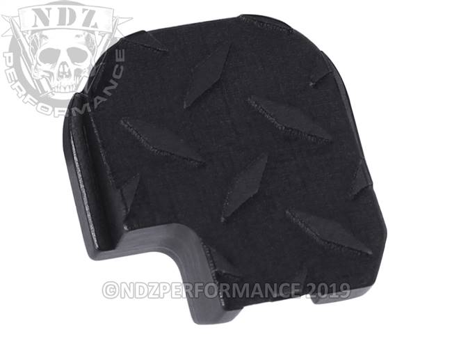 NDZ Black Sig Sauer P365 Rear Slide Cover Plate  Diamond Cut
