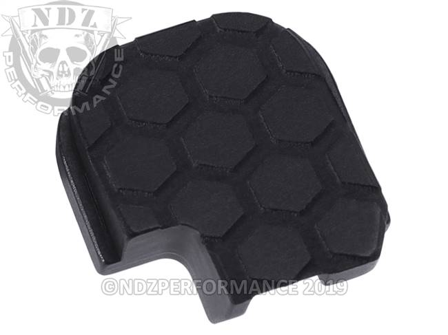 NDZ Black Sig Sauer P365 Rear Slide Cover Plate  Honey Comb