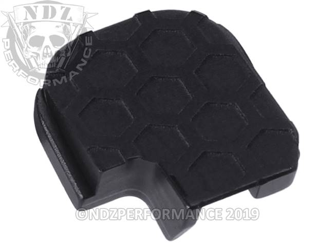 NDZ Black Sig Sauer P365 Rear Slide Cover Plate  Honey Comb Inverse