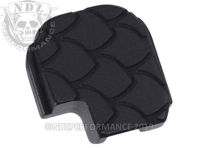 NDZ Black Sig Sauer P365 Rear Slide Cover Plate  Scales