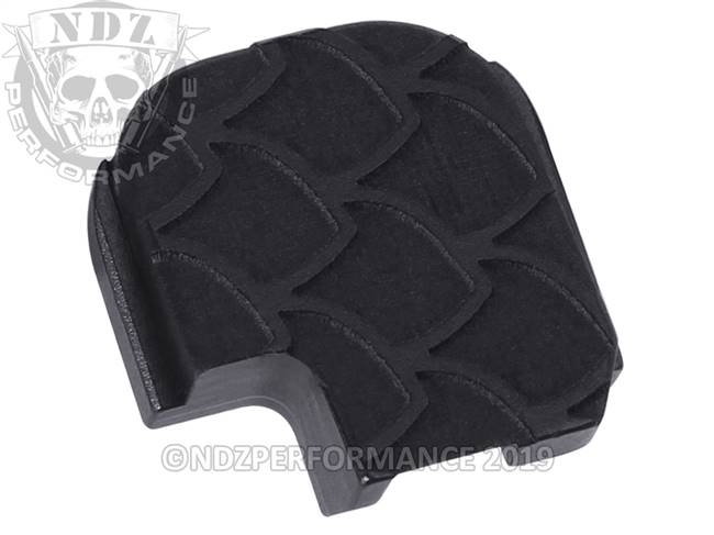 NDZ Black Sig Sauer P365 Rear Slide Cover Plate  Scales Inverse