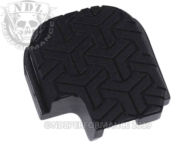 NDZ Black Sig Sauer P365 Rear Slide Cover Plate  TriWeave