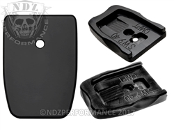 NDZ Black Delrin Magazine Plate Competition for Smith & Wesson M&P Full-Size & Compact 9MM .40 (*LZ)