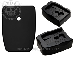 NDZ Black Delrin Extended Magazine Plate Competition for Smith & Wesson M&P Full-Size & Compact 9MM .40 (*LZ)