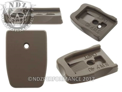 NDZ Gun Kote FDE Magazine Plate Competition for Smith & Wesson M&P Full-Size & Compact 9MM .40