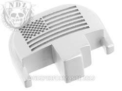 NDZ S&W M&P rear plate US Flag Silver