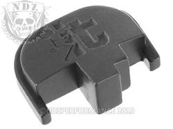 NDZ S&W M&P rear plate F It Stickman Black
