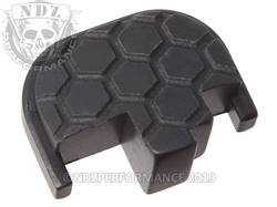 Black S&W M&P Rear Slide Plate HC