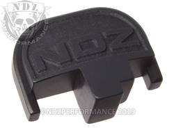 Black S&W M&P Rear Slide Plate NDZ
