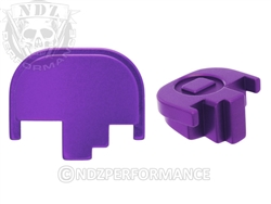 NDZ Purple Rear Plate for Smith & Wesson M&P Full-Size Compact M&P 2.0 (*LZ)