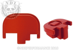 NDZ Red Rear Plate for Smith & Wesson M&P Full-Size Compact M&P 2.0 (*LZ)