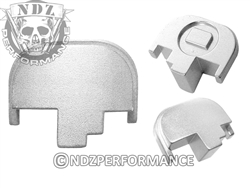 NDZ Performance S&W M&P 2.0 Silver Rear Slide Cover Plate