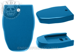 NDZ Magazine Plate for Smith & Wesson SD 40 CAL VE Blue (*LZ)