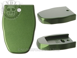 NDZ Magazine Plate for Smith & Wesson SD40 VE Green (*LZ)