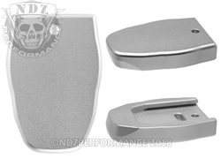 NDZ Magazine Plate for Smith & Wesson SD40 VE Silver (*LZ)
