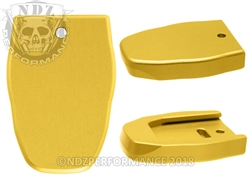 NDZ Magazine Plate for Smith & Wesson SD40 VE Gold (*LZ)