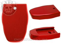NDZ Magazine Plate for Smith & Wesson SD9 VE Red (*LZ)