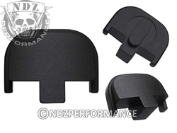 NDZ Personalized Smith & Wesson SD9 SD40 Black Rear Plate