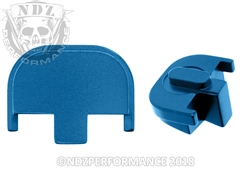 NDZ Blue Rear Plate for Smith & Wesson SD9 SD40 (*LZ)